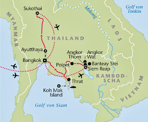 Thailand, Kambodscha, Rundreise, Heideker Reisen, www.heideker.de, Fernreisen, Asien