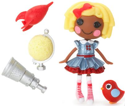mini Lalaloopsy Dot Starlight, con su mascota y accesorios
