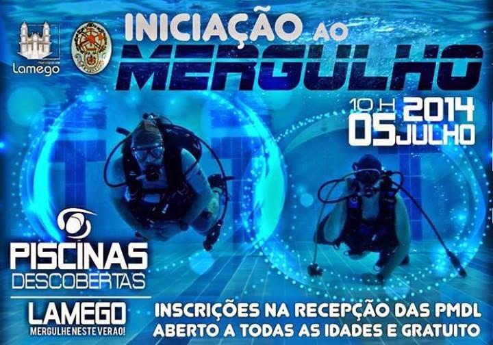 AMANHÃ - Iniciação ao mergulho nas Piscinas Descobertas de Lamego