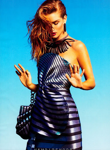 "Rosie Hungtington-Whiteley ""Spring Forward"" (Harper's Bazaar)"