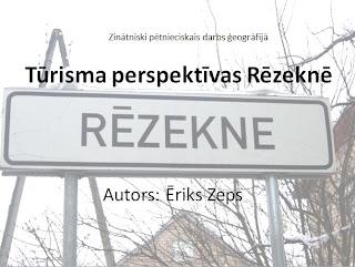 """2011.gada JĢS Zinātniskās konferences labākais darbs: Ēriks Zeps """"Tūrisma perspektīvas Rēzeknē"""". Lejuplādēt: https://docs.google.com/leaf?id=0BzICkEGDGbT1MmEyZDc1M2MtZTEwZS00ZjNhLWEzYjktMzM0ODc3N2FmMjUy&sort=moddate&desc=true&layout=list&num=200"""