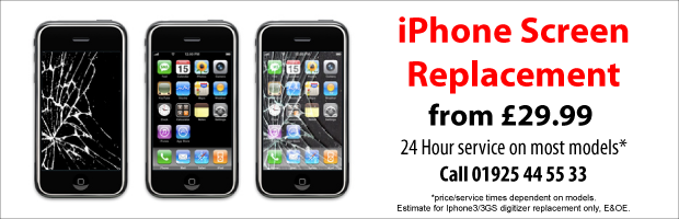 Iphone Ipad Repair Warrington, from £29.99
