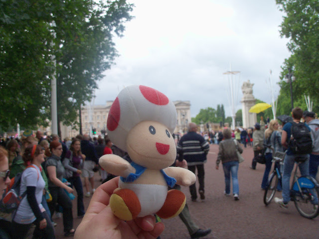 Toad by Buckingham Palace