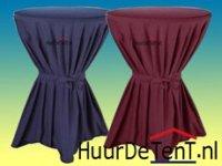 Statafel afrok, statafel linnen, statafelrok, diverse kleuren, zwart, marineblauw, bordeau rood