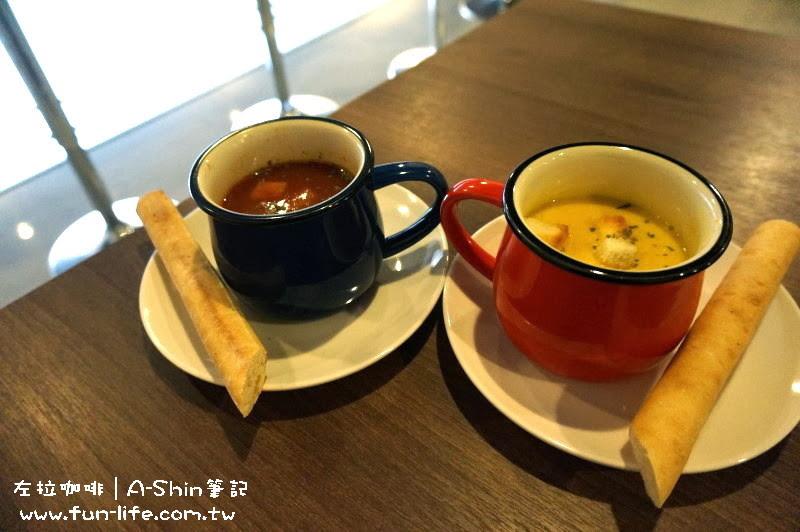 左拉咖啡館Zola-cafe-升級套餐的附餐