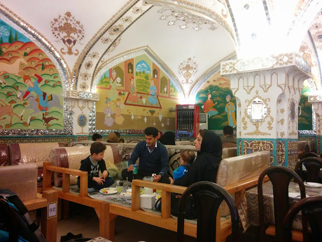 Traditional restaurant at Isfahan, Iran