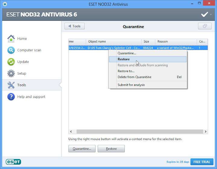 Anti-Virus ใน Windows 8 Nodgame08
