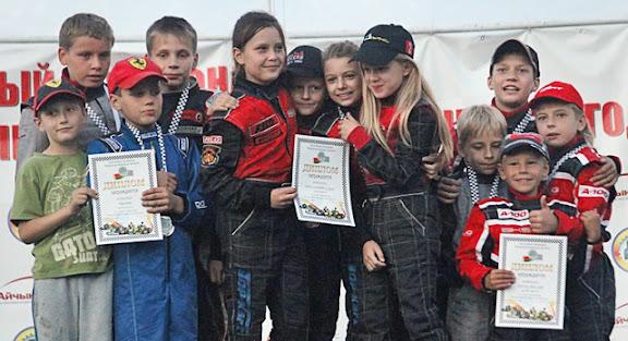 Брестчане в призерах чемпионата и Кубка страны  по картингу.