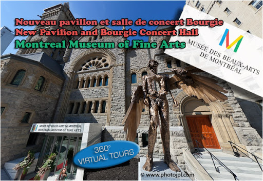 Pavillon et salle de concert Bourgie au Musée des beaux-arts de Montréal