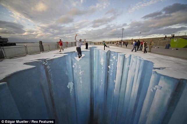 glaciar 3D