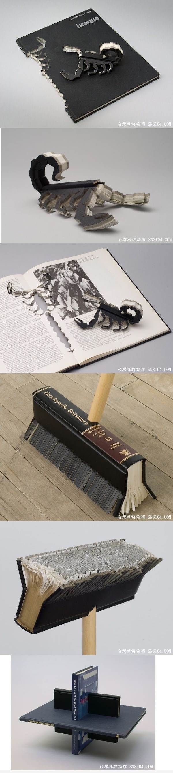 Sculptured Books