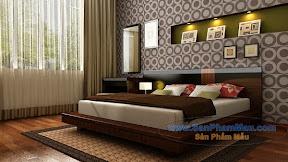 Giường ngủ bằng gỗ công nghiệp