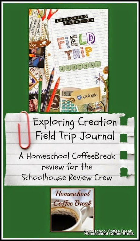 Exploring Creation Field Trip Journal - A Homeschool Coffee Break review for the Schoolhouse Review Crew @ kympossibleblog.blogspot.com