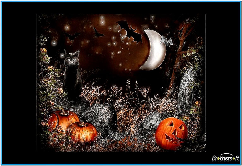 animated halloween screensavers and wallpaper - photo #11