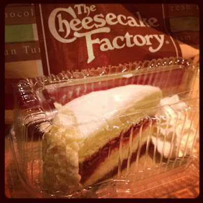 Ultimate red Velvet Cheesecake at the Cheesecake Factory Dubai Mall
