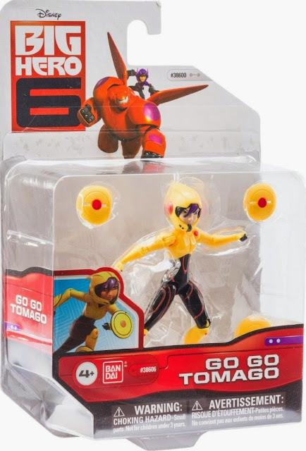 """Đồ chơi mô hình Go Go Tomago Biệt đội Big Hero 6 loại 4"""" được sản xuất bởi hãng Bandai Nhật Bản"""