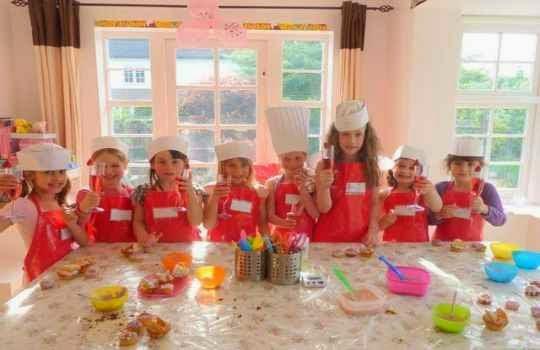 Fiesta infantil tematica cocina 1