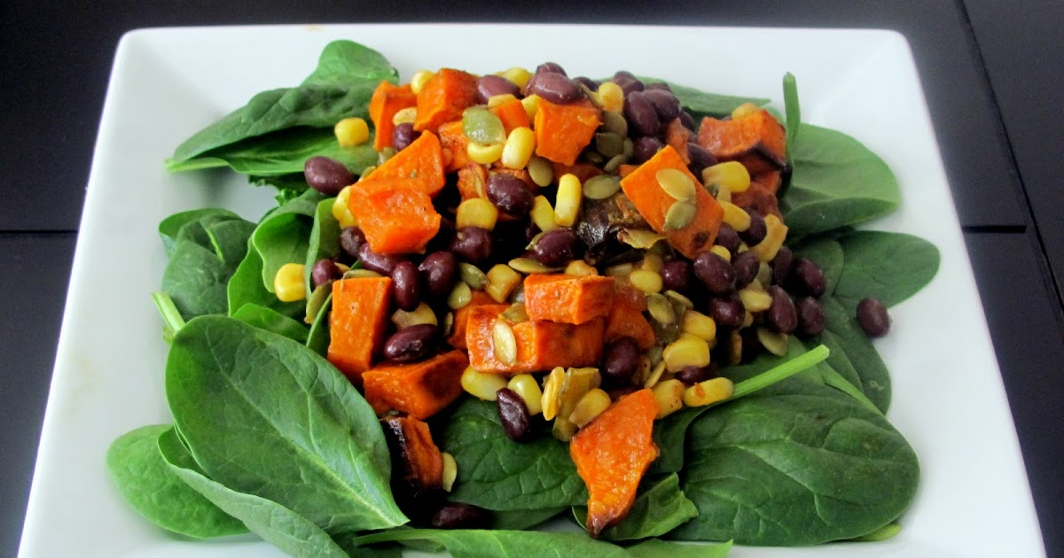 ... : Roasted Sweet Potato and Anaheim Pepper with Chili-Lime Dressing