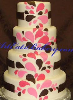 Red And White Wedding Cakes 57 Lovely Custom five tier black