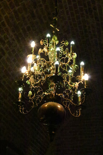 St Basil's Cathedral chandelier