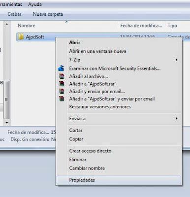 Acceso a servidor CIFS desde equipo con Microsoft Windows 7 agregado al dominio, establecer permisos a carpetas CIFS