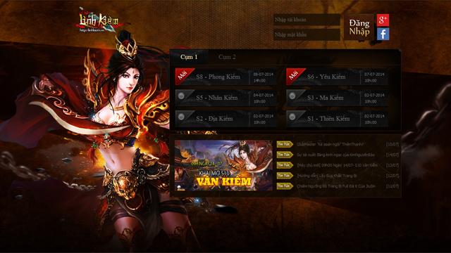 Linh Kiếm mở cửa Open Beta vào ngày 17/07 1