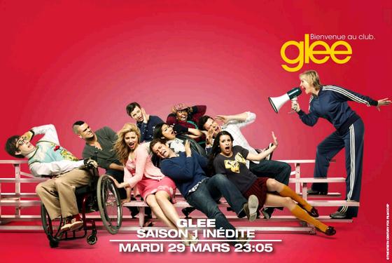 Glee sur M6 et W9 dès le 29 mars