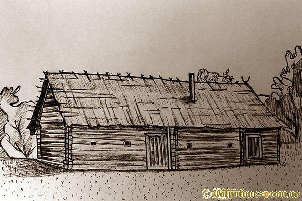 Хата XIXст. З села Полиці