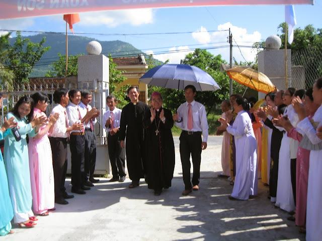 Hình ảnh thánh lễ Mừng kính Tổng Lãnh Thiên Thần Michael-Gabriel và Raphael bổn mạng Giáo xứ Xuân Sơn.