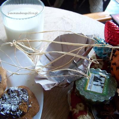 paczka od Marzenki Arctii Ostrowskiej pierniczki fimo tęczowekołek do stempla długopisy studio arctia kalendarzyki ekologiczny bez cukru dżem truskawkowy piernik łosiek