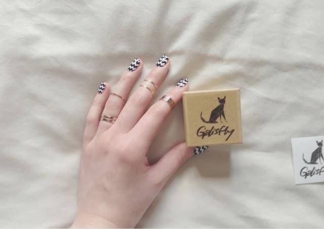Sammi Jackson - Galisfy Copper Knuckle Ring Set