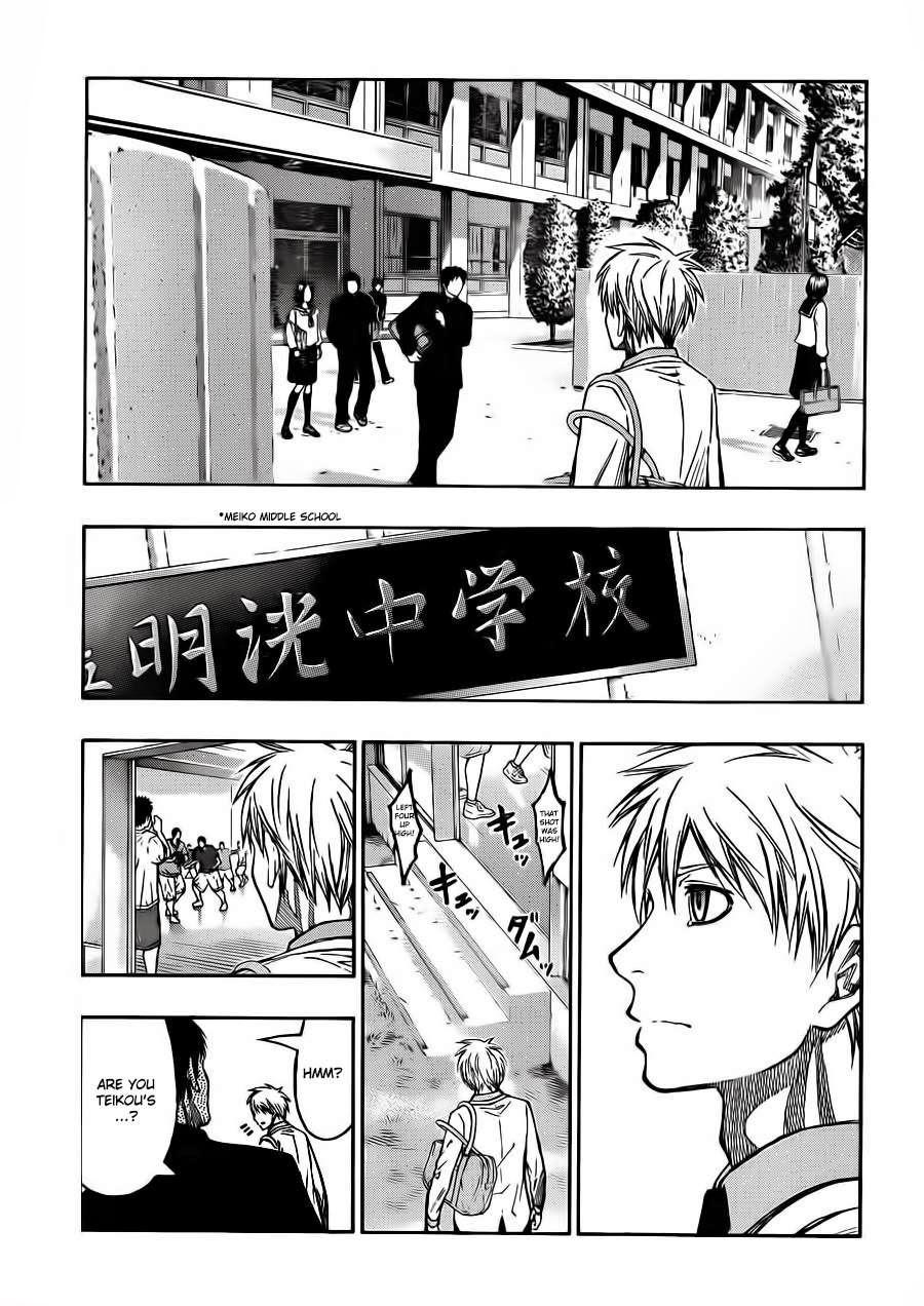 Kuroko no Basket Manga Chapter 227 - Image 09