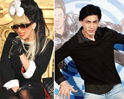 Lady gaga now for Ra One Post Promotions