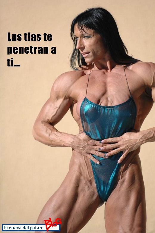tia musculosa, tia musculos, desnuda