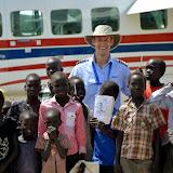 Eerste vluchten in Zuid-Soedan