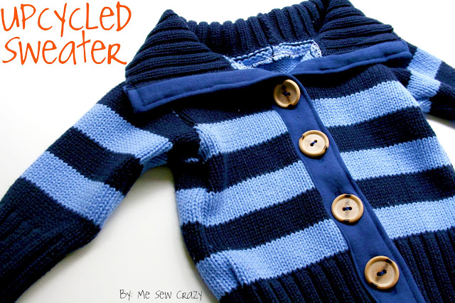7bdba7565 Upcycled Baby Sweater - The Sewing Rabbit