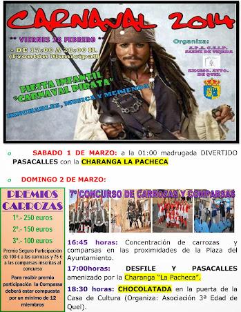 Fiestas de Carnavales 2014