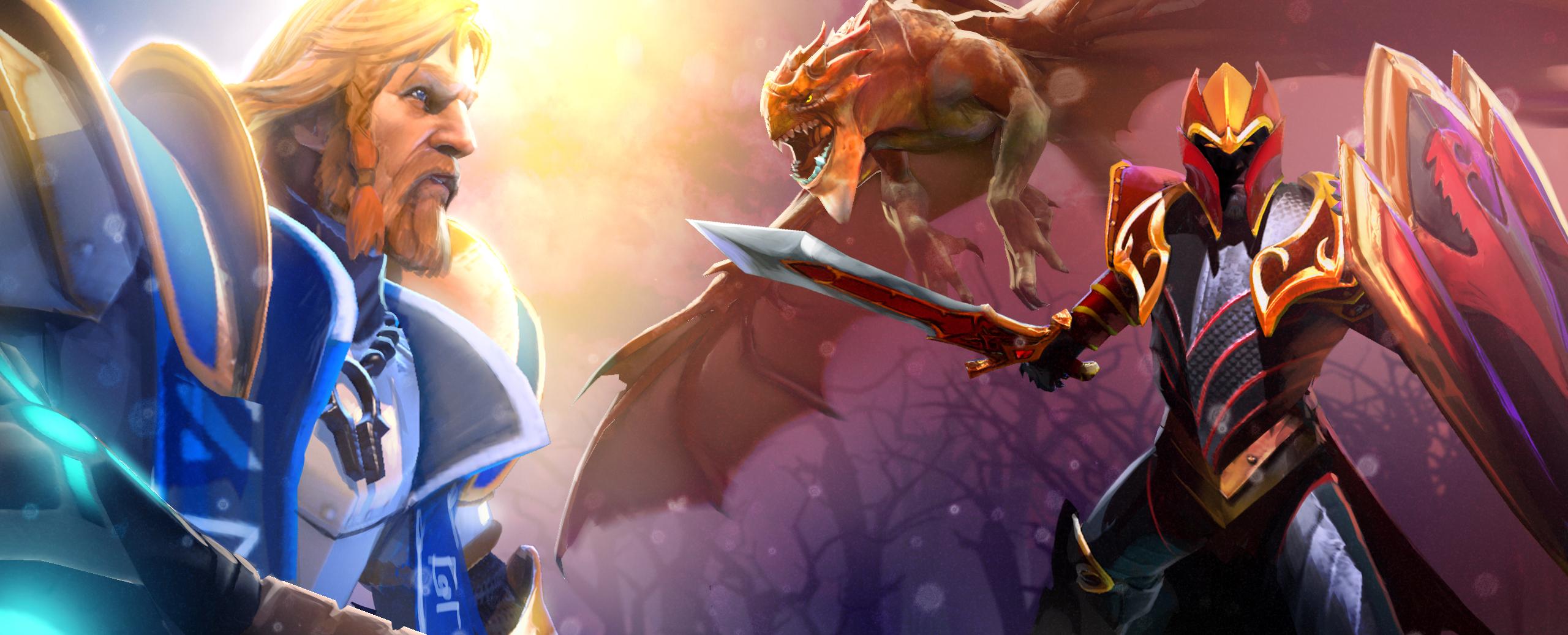 Loạt ảnh nguyên họa của các hero trong DotA 2 - Ảnh 2