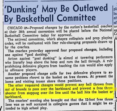Wilt Chamberlain free throw dunks: - Message Board ...