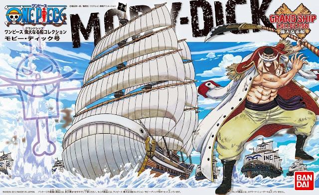 Mô hình One Piece Moby Dick được làm từ chất liệu an toàn, cam kết về chất lượng bởi hãng Bandai