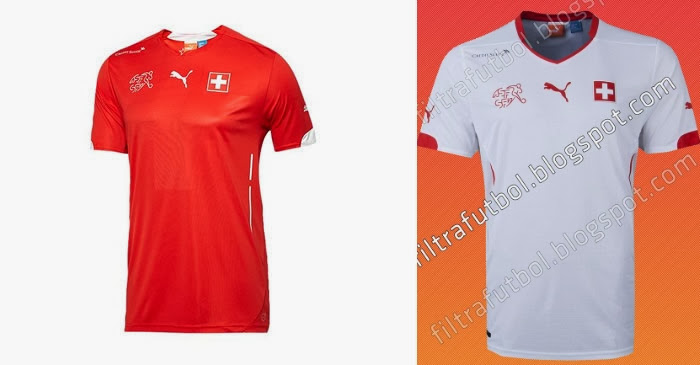 Switzerland 2014 World Cup Home Kit – Official Shirt Leaked