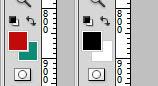 Com D, você reinicia as cores para o padrão