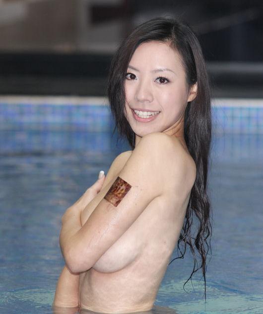 替身 羽庭寫真集 裸泳