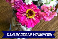 Make Your Own Decorative Flower Vase