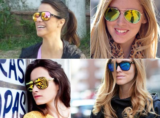 3fcfe47082b99 Está em alta  óculos com lente espelhada! - Moda Posthaus