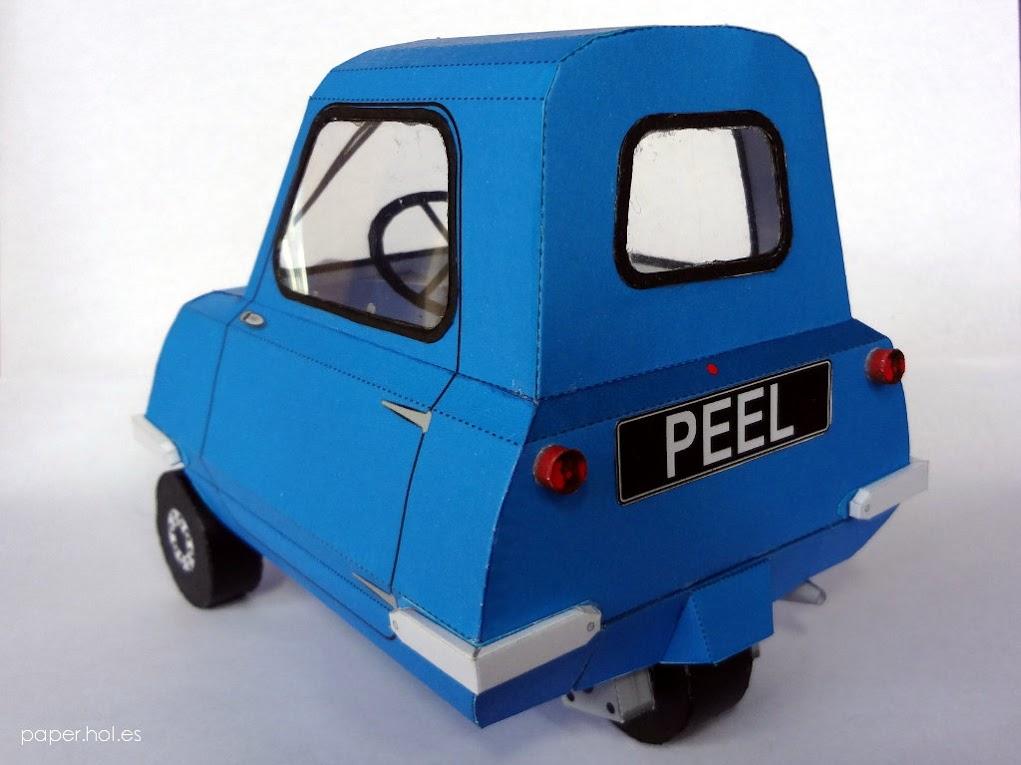 Peel P50 Papercraft paper model