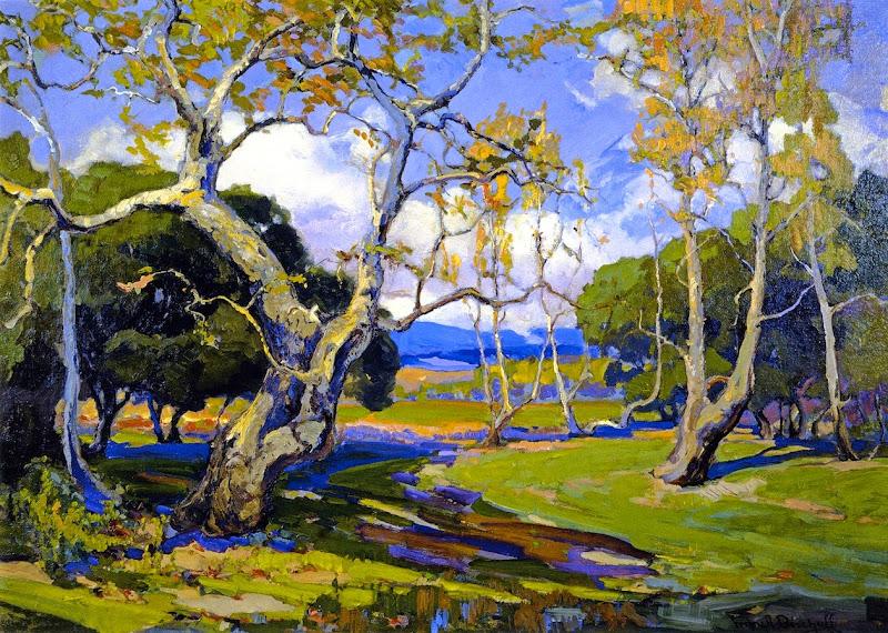 Franz Bischoff - A California Woodland