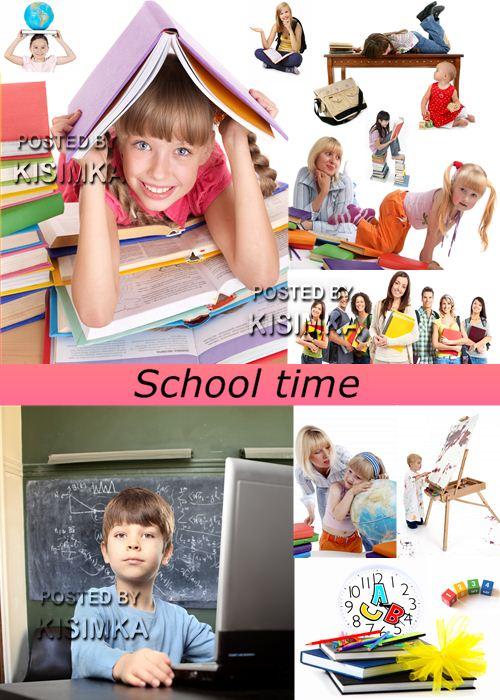Stock Photo: School time