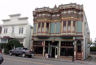 Victorian Buildings line the streets of Ferndale