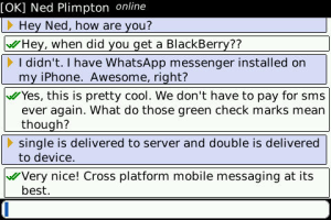 whatsapp for blackberry